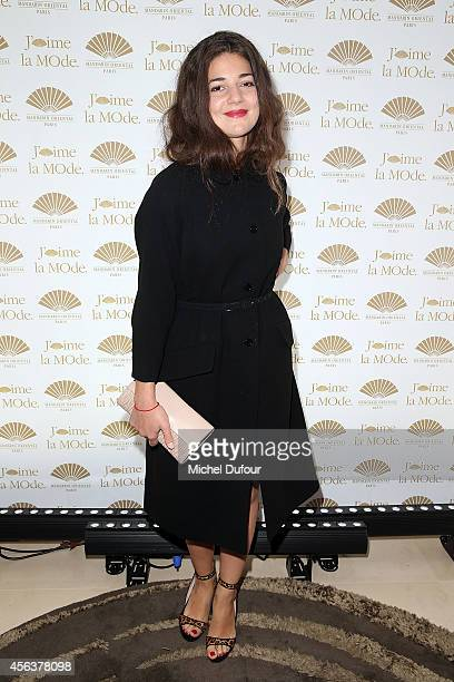 Esther Garrel attends 'J'aime La Mode 2014' party in Mandarin Oriental as part of the Paris Fashion Week Womenswear Spring/Summer 2015 on September...