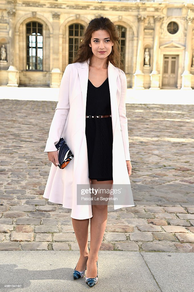 <a gi-track='captionPersonalityLinkClicked' href=/galleries/search?phrase=Esther+Garrel&family=editorial&specificpeople=7784458 ng-click='$event.stopPropagation()'>Esther Garrel</a> attends the Christian Dior show as part of the Paris Fashion Week Womenswear Spring/Summer 2015 on September 26, 2014 in Paris, France.