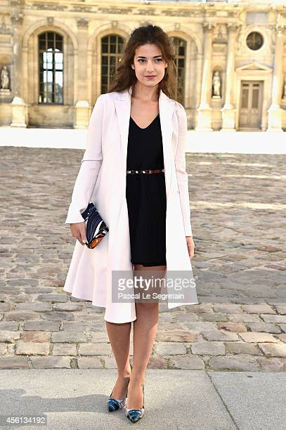 Esther Garrel attends the Christian Dior show as part of the Paris Fashion Week Womenswear Spring/Summer 2015 on September 26 2014 in Paris France