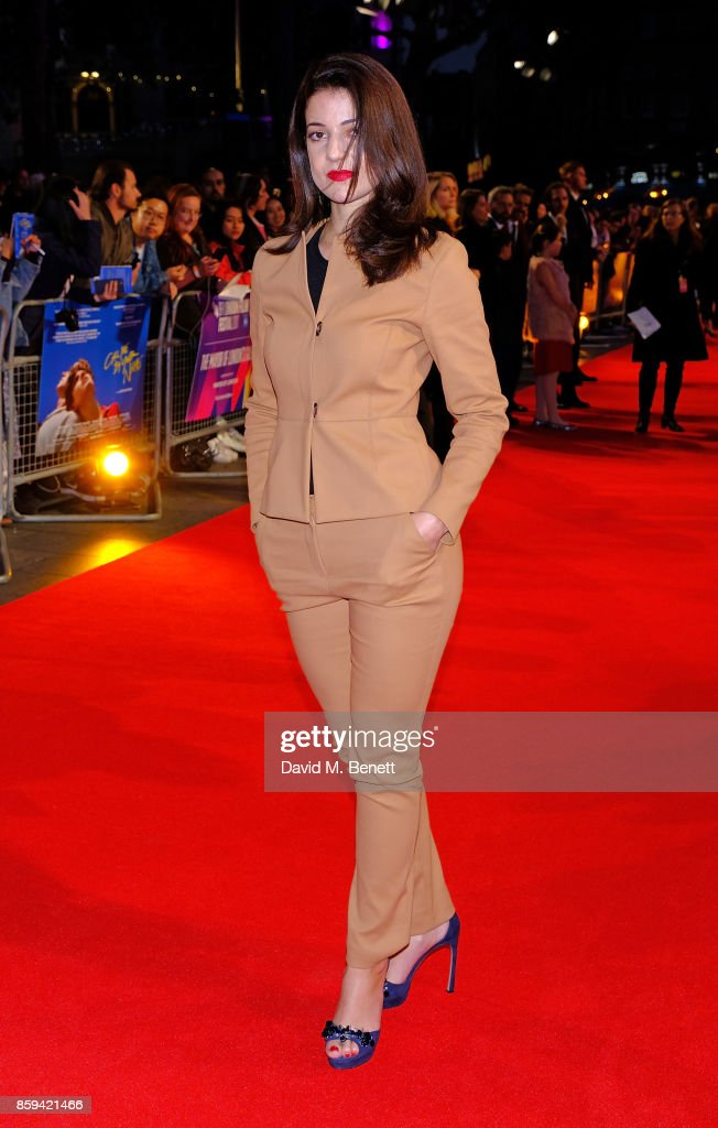 """Call Me By Your Name"" UK Premiere - 61st BFI London Film Festival - VIP Arrivals"
