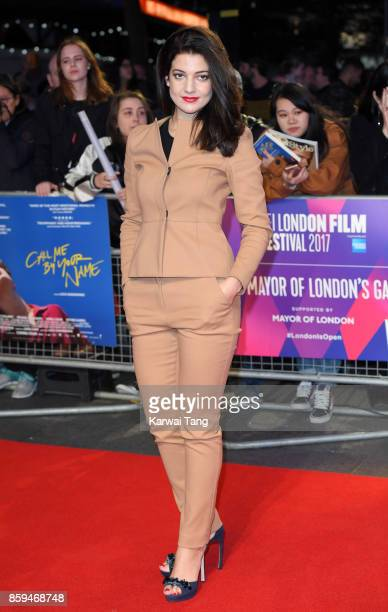 Esther Garrel attends the Mayor Of London Gala UK Premiere of 'Call Me By Your Name' during the 61st BFI London Film Festival at Odeon Leicester...