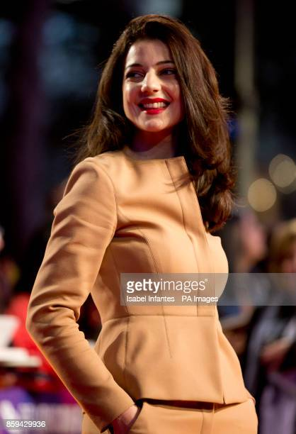 Esther Garrel attends the premiere of Call Me By My Name as part of the BFI London Film Festival at Odeon Leicester Square London