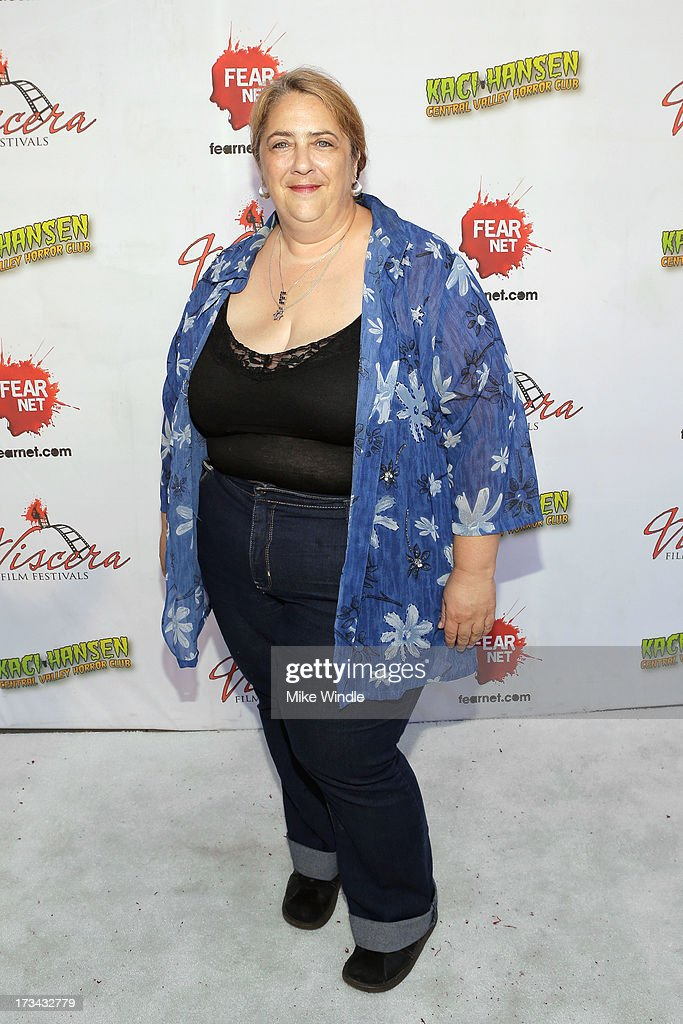Esther Goodstein arrives at the 2013 Viscera Film Festival Red Carpet Event at American Cinematheque's Egyptian Theatre on July 13, 2013 in Hollywood, California.
