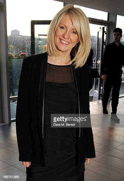 Esther McVey attends a drink reception celebrating 'An Evening With Chickenshed' a cabaret performance in aid of inclusive theatre company...
