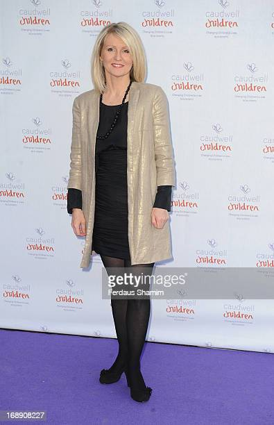 Esther McVey attends The Butterfly Ball A Sensory Experience in aid of the Caudwell Children's charity at Battersea Evolution on May 16 2013 in...