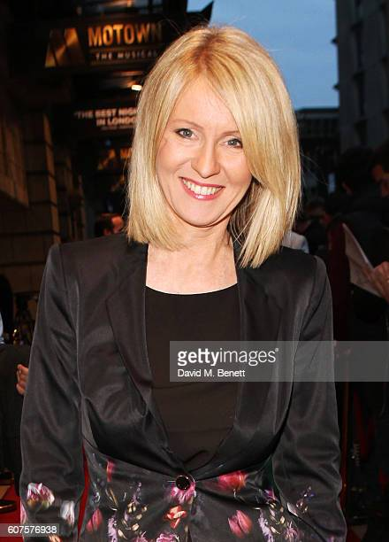 Esther McVey attends the National Youth Theatre's 60th Anniversary Gala 'The Story Of Our Youth At 60' at The Shaftesbury Theatre on September 18...