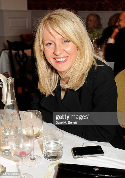 Esther McVey attends the National Youth Theatre's 'A Shepherd's Delight' fundraising dinner hosted by Matt Smith at Shepherd's Restaurant on December...