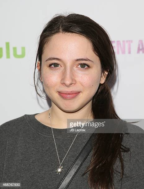 Esther Povitsky attends Hulu's 'Resident Advisors' Los Angeles premiere at the Sherry Lansing Theatre at Paramount Studios on March 31 2015 in Los...
