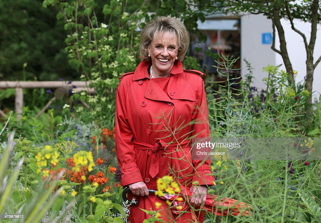 Esther Rantzen poses for a photograph at the Sentebale 'Hope In Vunerability' Garden during the annual Chelsea Flower show at Royal Hospital Chelsea on May 18, 2015 in London, England.The Sentebale - Hope In Vulnerability Garden at RHS Chelsea Flower Show was designed by Matt Keightley and is inspired by the Mamohato Children's Centre in Lesotho. The Children's Centre is due to open later this year in Lesotho and will provide support to children living wth HIV