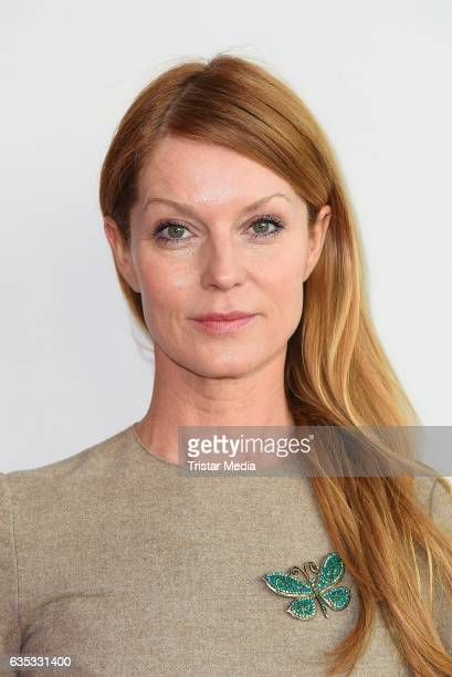 Esther Schweins attends the Hessian Reception 2017 during the 67th Berlinale International Film Festival Berlin on February 14 2017 in Berlin Germany
