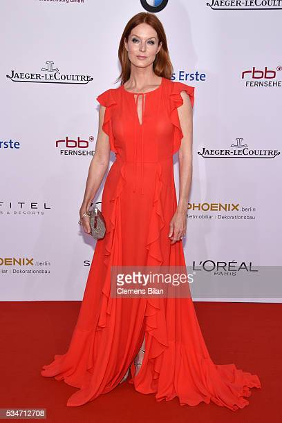 Esther Schweins attends the Lola German Film Award on May 27 2016 in Berlin Germany