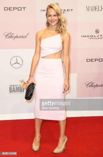 Esther Seibt arrives at Tribute To Bambi at Berlin Station on October 5 2017 in Berlin Germany