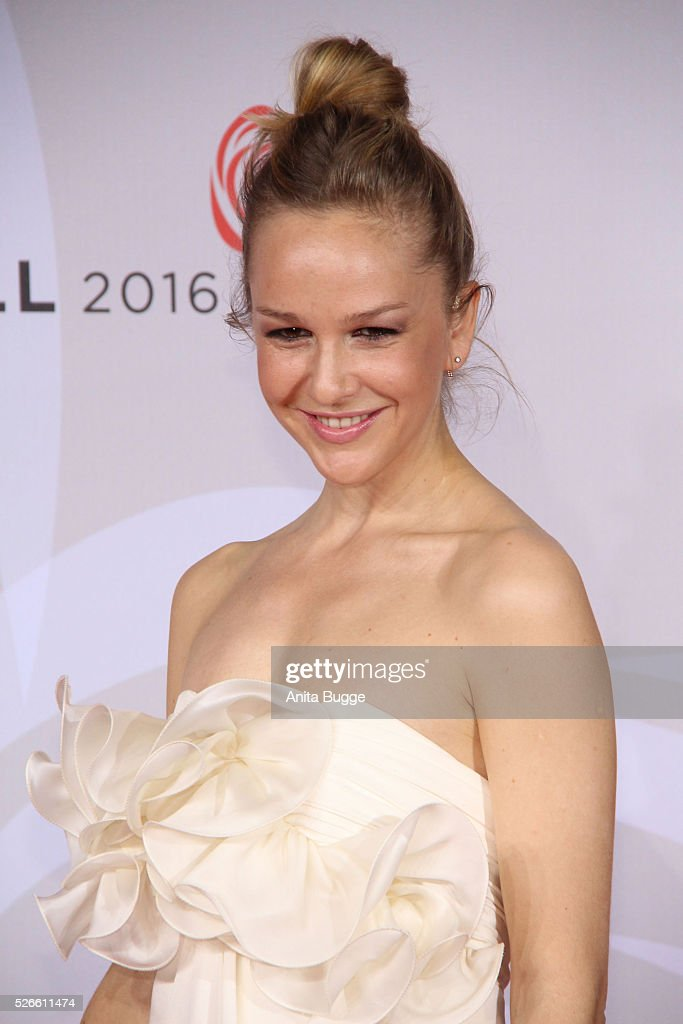 Esther Seibt attends the charity event 'Rosenball' at Hotel Intercontinental on April 30, 2016 in Berlin, Germany.
