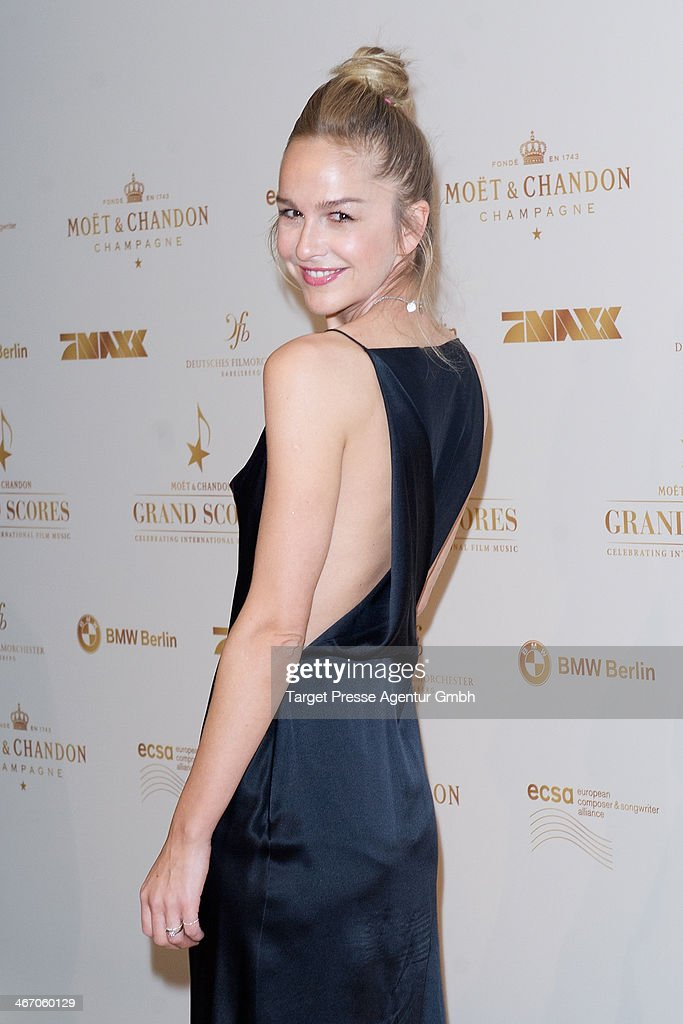 Esther Seibt attends the Moet & Chandon Grand Scores at Kaufhaus Jandorf on February 5, 2014 in Berlin, Germany.