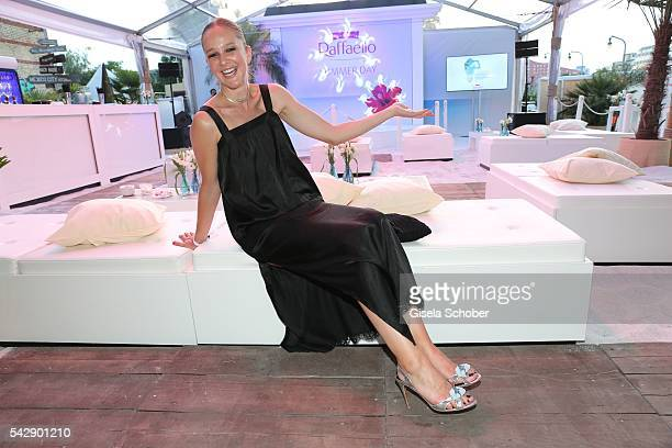 Esther Seibt during the Raffaello Summer Day 2016 to celebrate the 26th anniversary of Raffaello on June 24 2016 in Berlin Germany