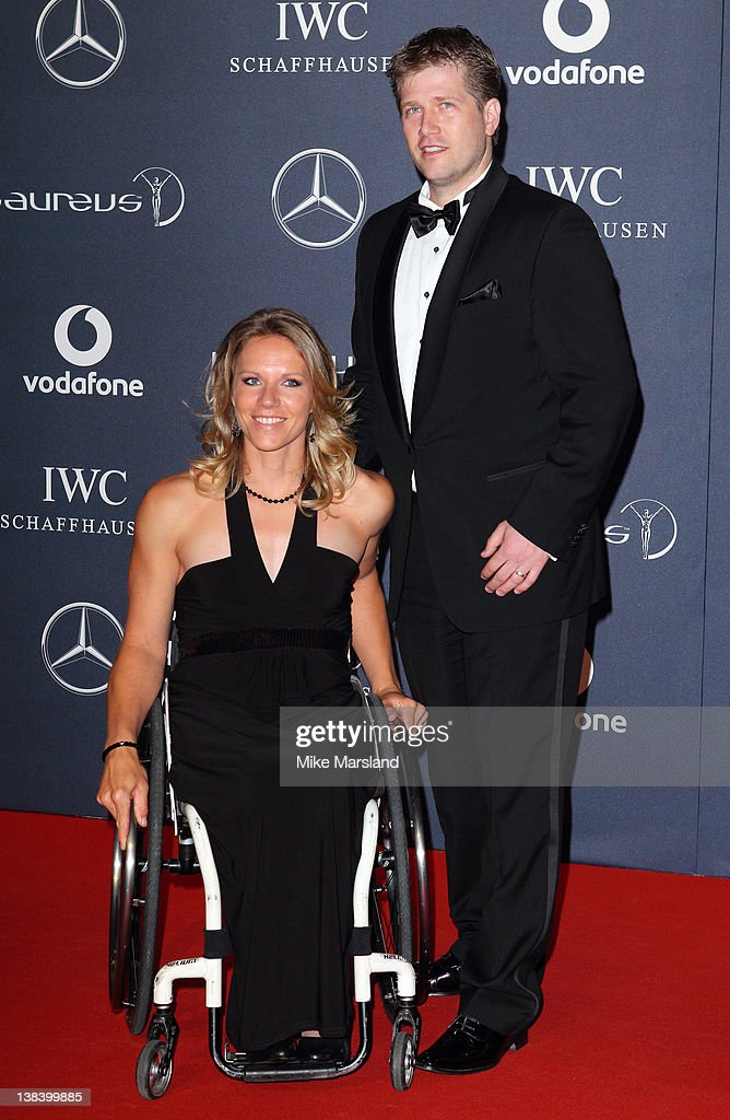 <a gi-track='captionPersonalityLinkClicked' href=/galleries/search?phrase=Esther+Vergeer&family=editorial&specificpeople=622149 ng-click='$event.stopPropagation()'>Esther Vergeer</a> arrives at the Laureus World Sports Awards at the Queen Elizabeth Hall on February 6, 2012 in London, England.