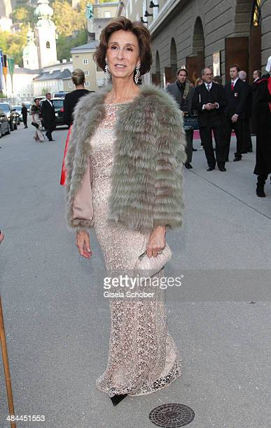 Esther von SalisSamaden attends the opening of the easter festival 2014 on April 12 2014 in Salzburg Austria