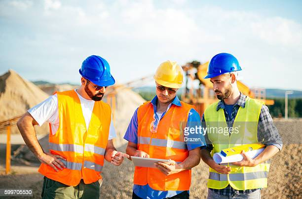 Estimation for job completition on construction site