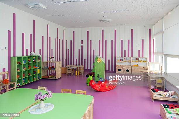 Estonia, playroom of a newly built kindergarten
