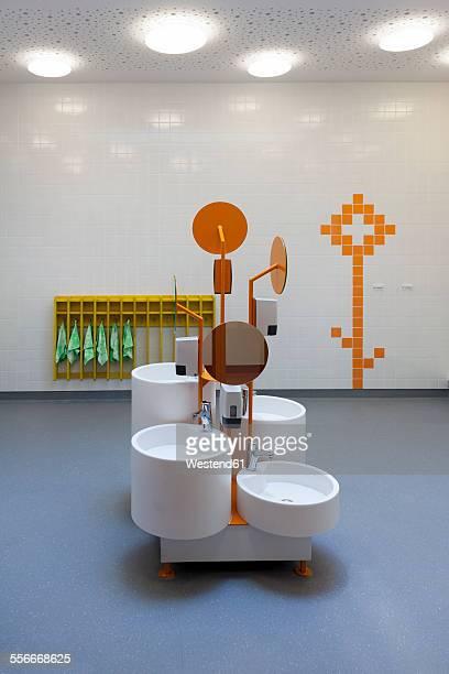 Estonia, sanitary area of a newly built kindergarten