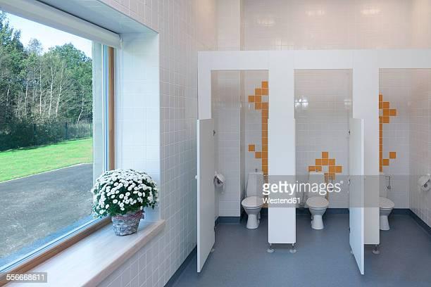 Estonia, toilets in a newly built kindergarten