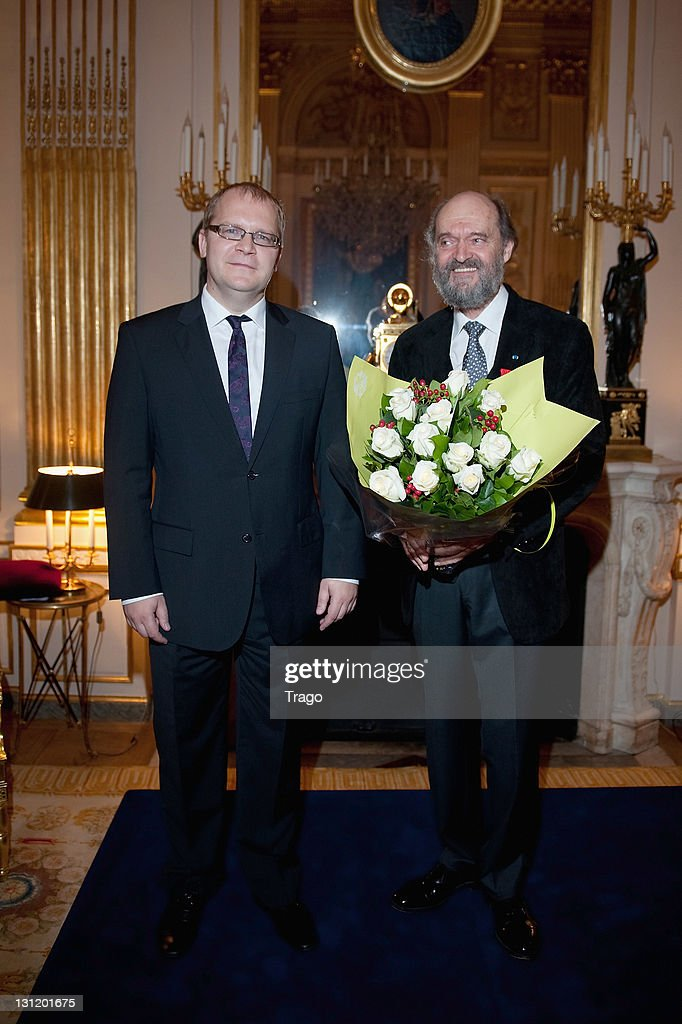 Estonian Musician Arvo Part Receives Honors At French Ministry Of Culture