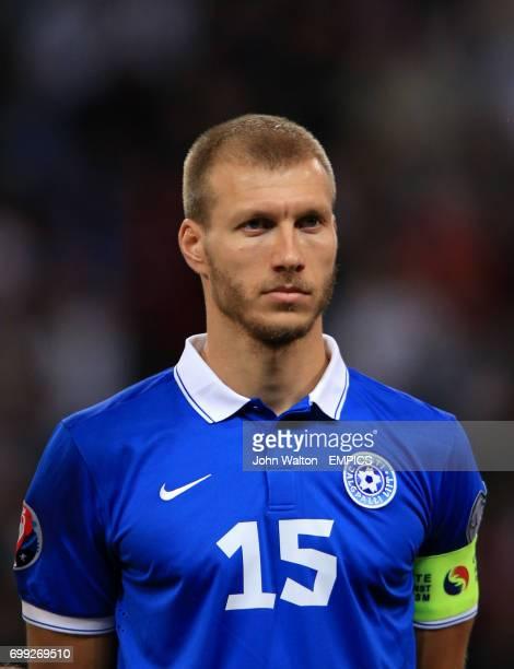 Estonia's Ragnar Klavan