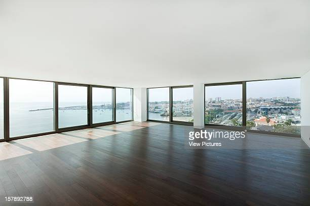 Estoril Sol Residence GonAlo Byrne Arquitectos Estoril Portugal Interior View From Main Living Room With Visual Relation With Cascais Bay And Marina...