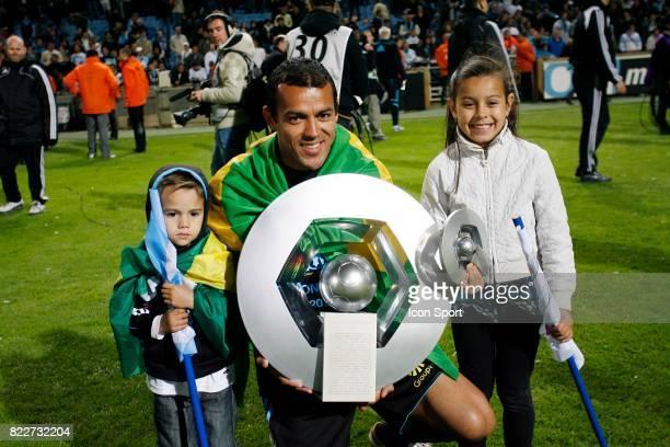 HILTON et ses enfants Marseille / Grenoble 38e journee de Ligue 1