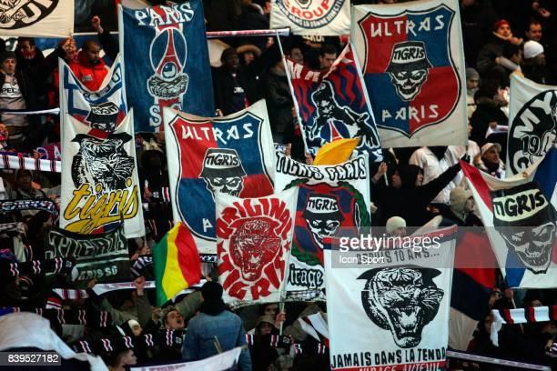 TIGRIS et ULTRAS Supporters du PSG Paris Saint Germain / Sochaux 20eme journee de Ligue 1
