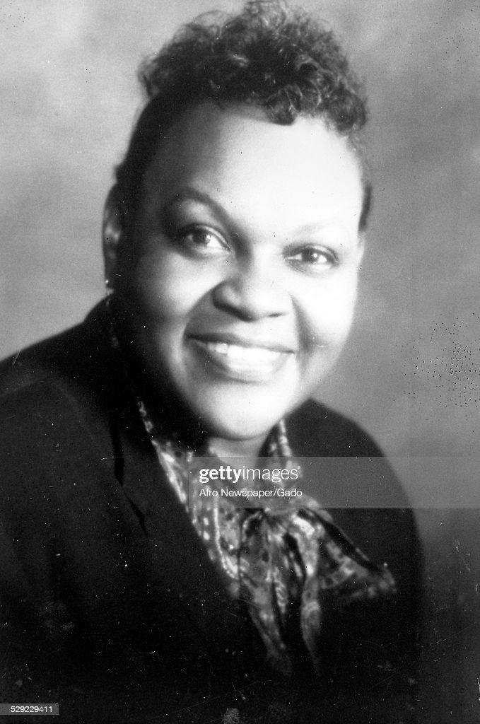 Eta Phi Beta National President Mildred Farpole' 1980