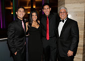 Etai Gil Tal Gil Guy Gil and Yosi Gil attend Alifat International Inc's Annual Global Literacy Dinner at InterContinental Miami on September 27 2014...