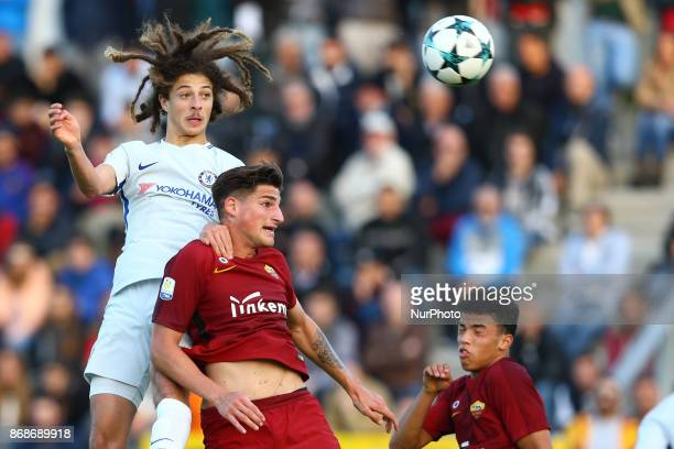 Ethan Ampadu of Chelsea during the UEFA Youth League match between AS Roma and Chelsea FC at Stadio Tre Fontane on October 31 2017 in Rome Italy