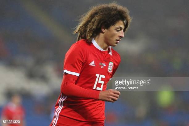 Ethan Ampadu of Wales during the International Friendly match between Wales and Panama at The Cardiff City Stadium on November 14 2017 in Cardiff...