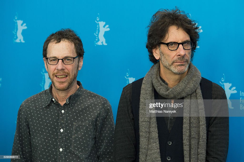 Ethan and Joel Cohen attend the 'Hail, Caesar!' photo call during the 66th Berlinale International Film Festival Berlin at Grand Hyatt Hotel on February 11, 2016 in Berlin, Germany.