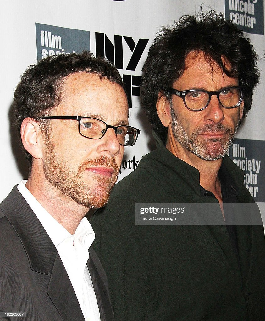 <a gi-track='captionPersonalityLinkClicked' href=/galleries/search?phrase=Ethan+Coen&family=editorial&specificpeople=1130888 ng-click='$event.stopPropagation()'>Ethan Coen</a> and <a gi-track='captionPersonalityLinkClicked' href=/galleries/search?phrase=Joel+Coen&family=editorial&specificpeople=4292064 ng-click='$event.stopPropagation()'>Joel Coen</a> attend the 'Inside Lleywn Davis' permiere during the 51st New York Film Festival at Alice Tully Hall at Lincoln Center on September 28, 2013 in New York City.