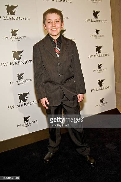 Ethan Cutkosky of Shameless attends the grand opening of the JW Marriott Chicago on March 7 2011 in Chicago Illinois