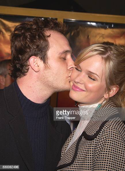 Ethan Embry and wife arrive at the premiere of 'Timeline'