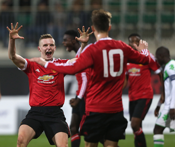 VfL Wolfsburg v Manchester United FC - UEFA Youth League : News Photo