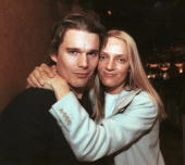 Ethan Hawke and Uma Thurman at the 2000 Sundance Film Festival
