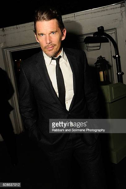Ethan Hawke attends Montblanc And The Cinema Society With Mastro Dobel Kim Crawford Wines Host A Screening Of Sony Pictures Classics' Maggie's Plan...