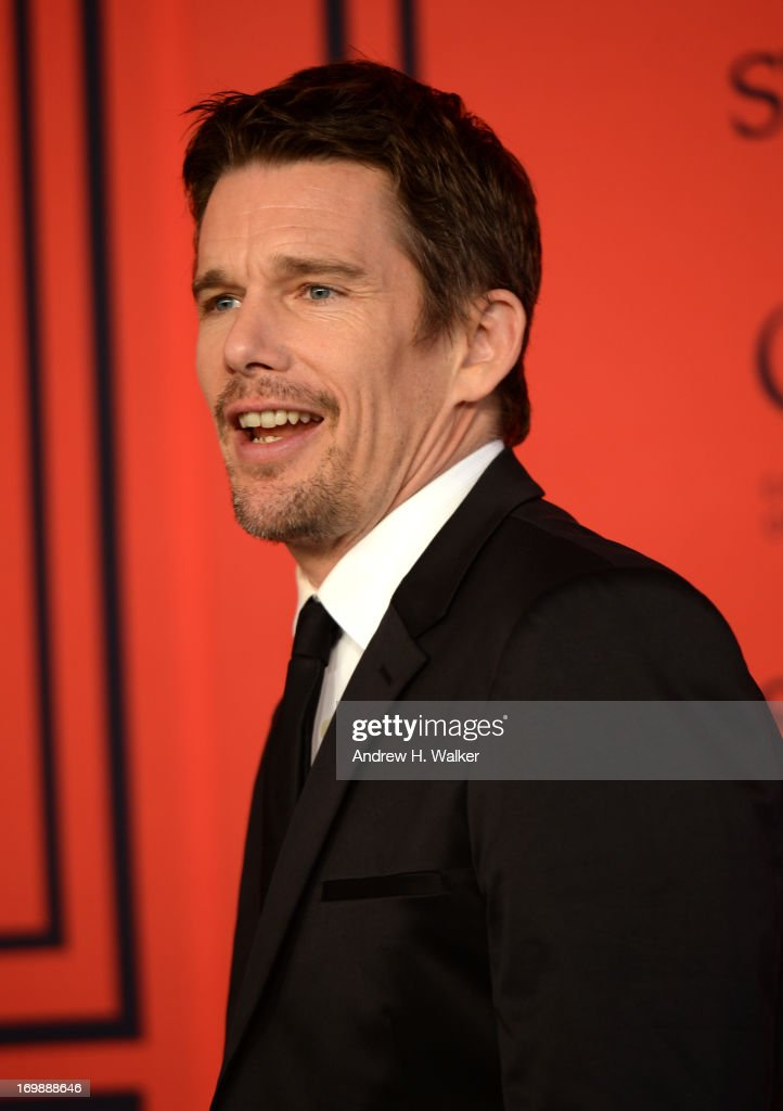 Ethan Hawke attends the 2013 CFDA Fashion Awards on June 3, 2013 in New York, United States.