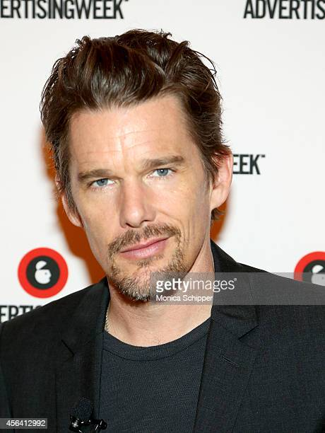 Ethan Hawke attends the Live Taping of IMDB What To Watch w/Ethan Hawke during AWXI on September 30 2014 in New York City