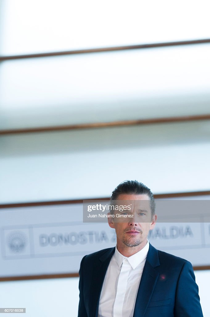 Ethan Hawke attends 'The Magnificent Seven' photocall during 64th San Sebastian Film Festival at Kursaal on September 17, 2016 in San Sebastian, Spain.