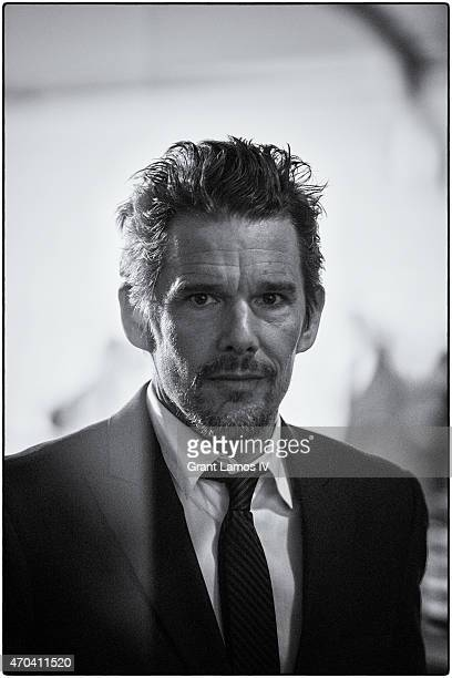 Ethan Hawke attends the premiere of 'Good Kill' during the 2015 Tribeca Film Festival at BMCC Tribeca PAC on April 19 2015 in New York City