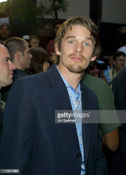 Ethan Hawke during 'Artificial Intelligence AI' World Premiere at Ziegfeld Theatre in New York City New York United States