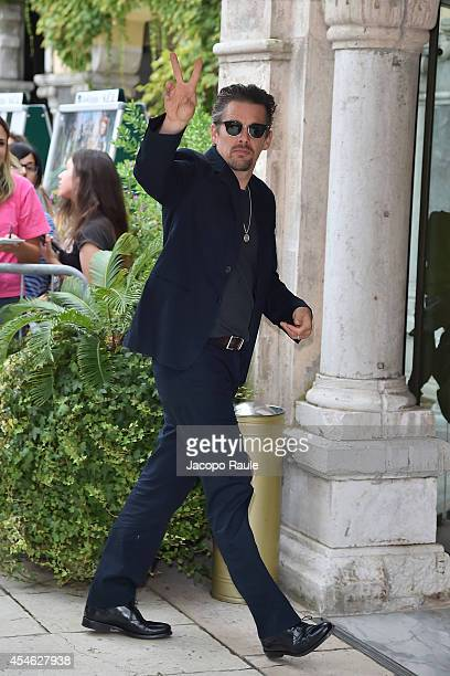 Ethan Hawke is seen during The 71st Venice International Film Festival on September 4 2014 in Venice Italy