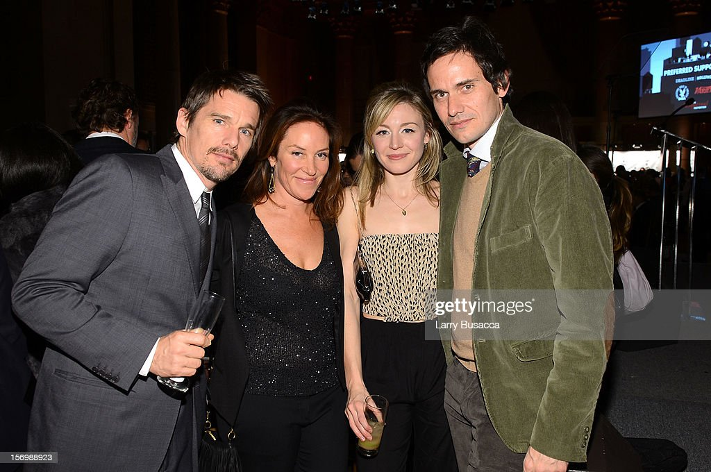 <a gi-track='captionPersonalityLinkClicked' href=/galleries/search?phrase=Ethan+Hawke&family=editorial&specificpeople=178274 ng-click='$event.stopPropagation()'>Ethan Hawke</a> (L), Juliet Rylance, and Christian Camargo attend the IFP's 22nd Annual Gotham Independent Film Awards at Cipriani Wall Street on November 26, 2012 in New York City.