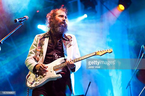 Ethan Miller of Howlin Rain performs on stage at Placa Reial during BAM Festival on September 21 2012 in Barcelona Spain