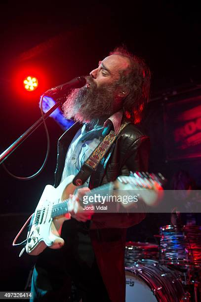Ethan Miller of Howlin Rain performs on stage at Rocksound on November 15 2015 in Barcelona Spain